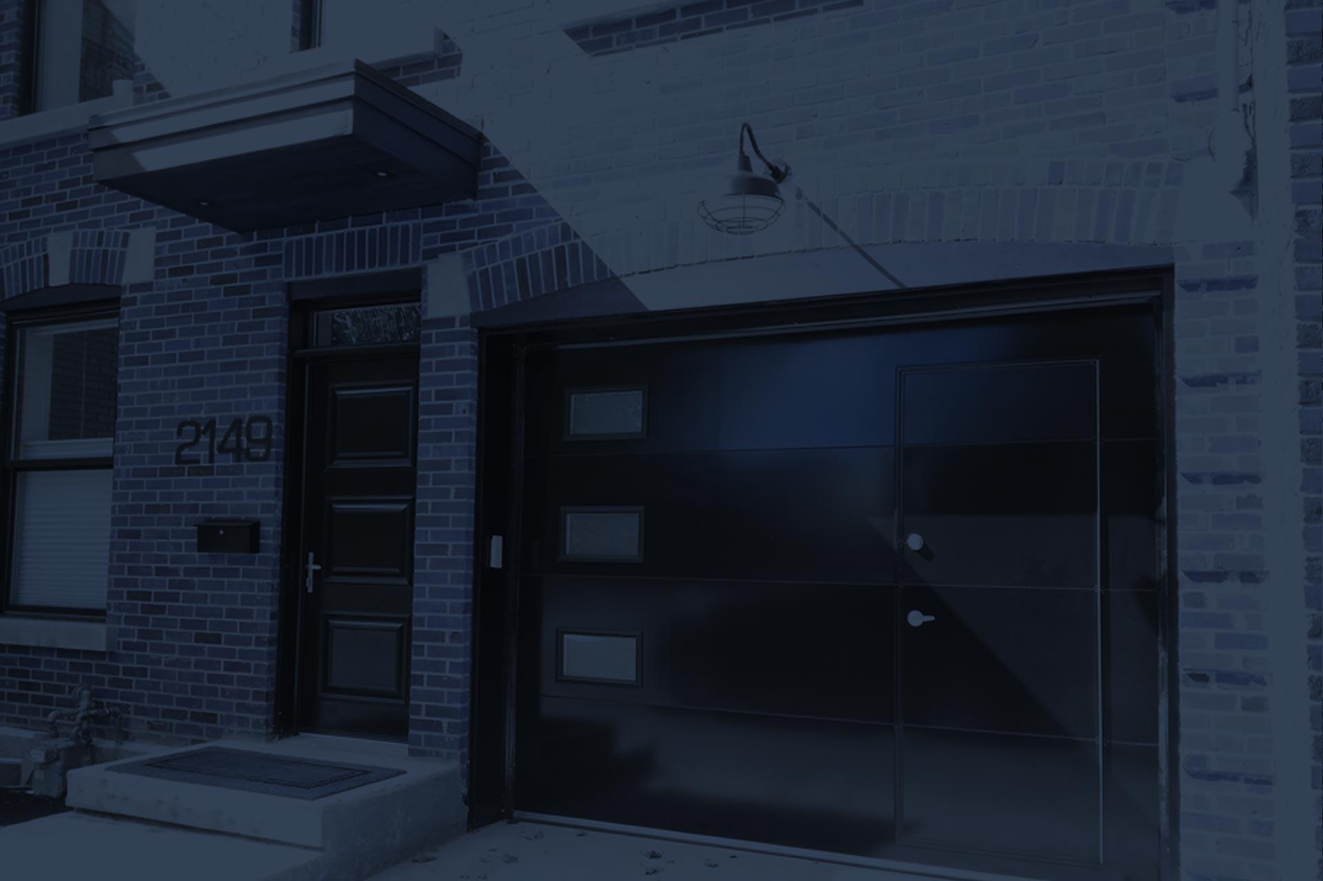 porte passage facilitez vous l 39 entr e au garage. Black Bedroom Furniture Sets. Home Design Ideas